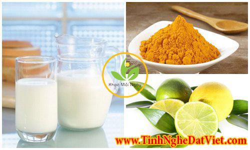 Bạn đã biết làm mặt nạ tinh bột nghệ và sữa tươi dưỡng da như thế nào?